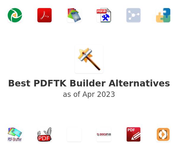 Best PDFTK Builder Alternatives