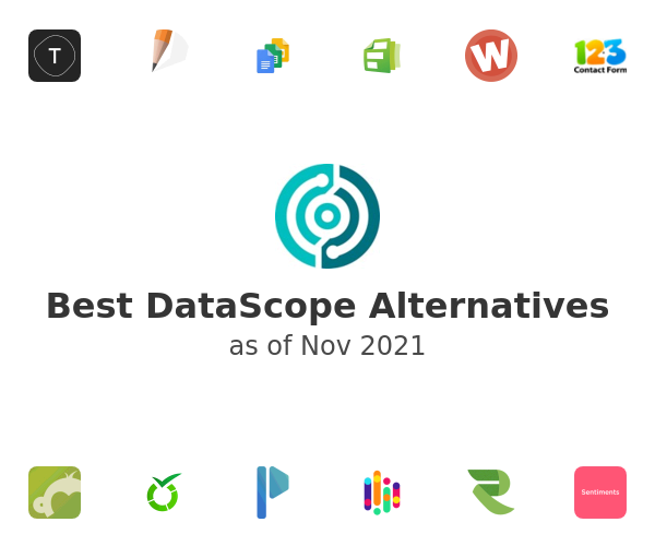 Best DataScope Alternatives
