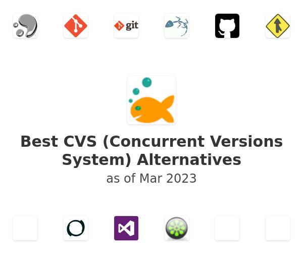 Best CVS (Concurrent Versions System) Alternatives