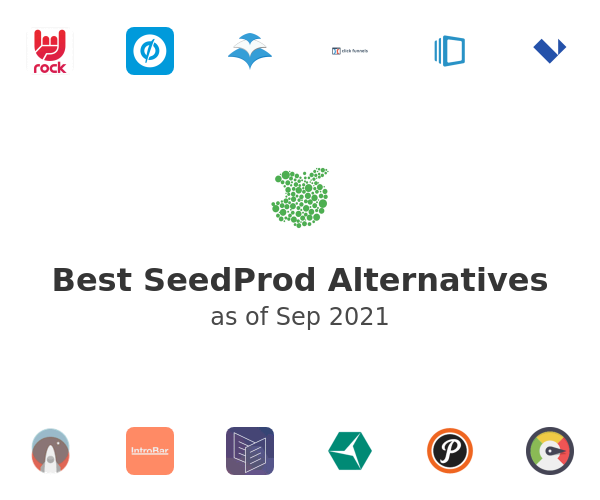 Best SeedProd Alternatives