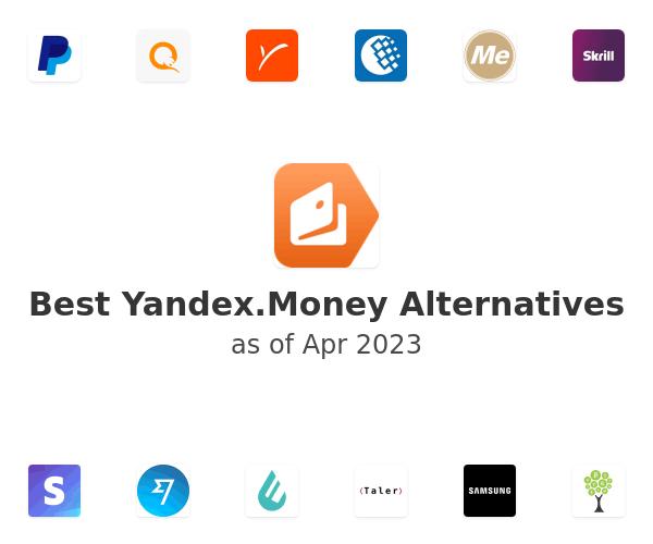 Best Yandex.Money Alternatives