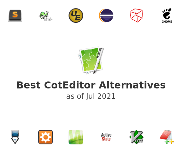 Best CotEditor Alternatives