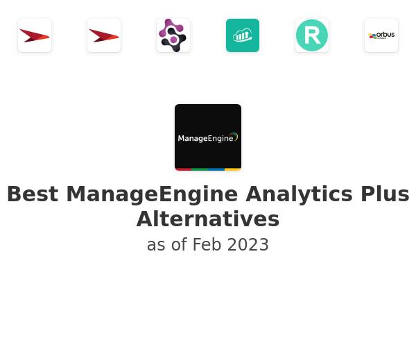 Best ManageEngine Analytics Plus Alternatives