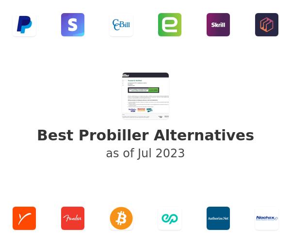 Best Probiller Alternatives