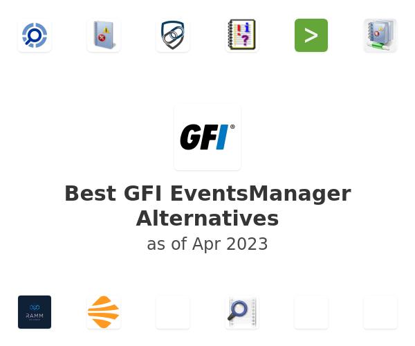 Best GFI EventsManager Alternatives