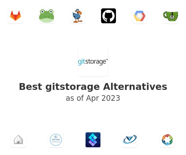 Best gitstorage Alternatives