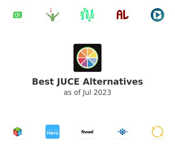 Best JUCE Alternatives