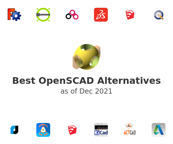 Best OpenSCAD Alternatives