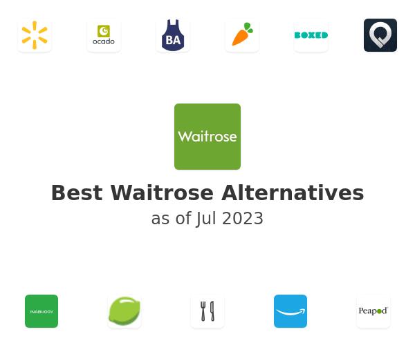 Best Waitrose Alternatives