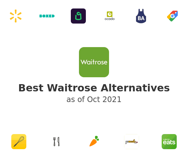Best Waitrose Alternatives