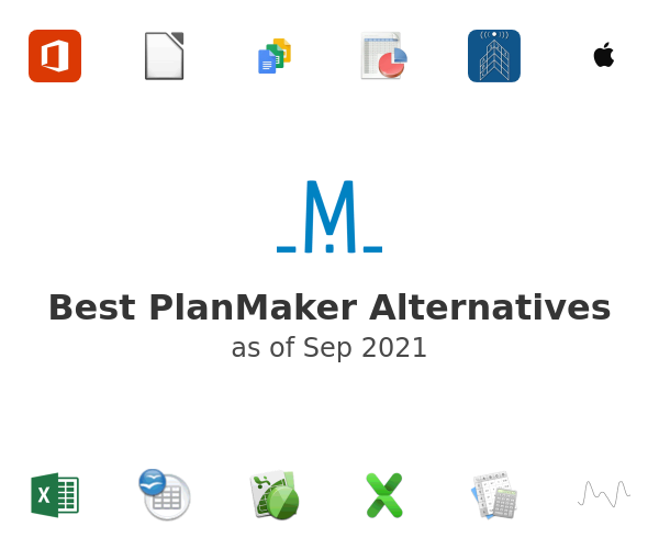 Best PlanMaker Alternatives