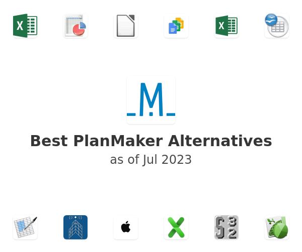 Best PlanMaker Alternatives