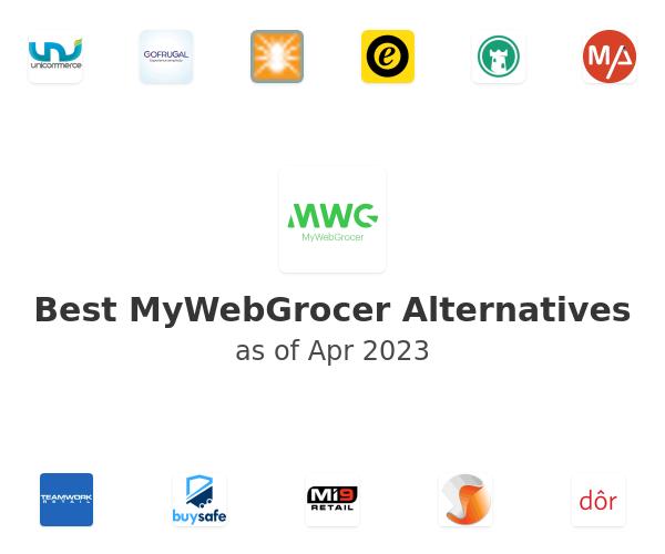 Best MyWebGrocer Alternatives