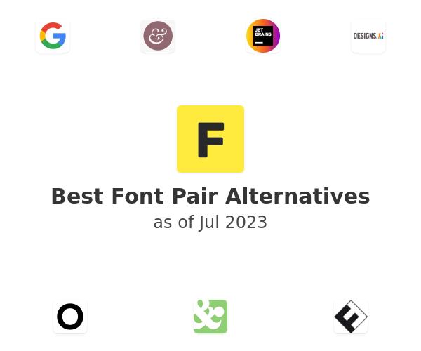 Best Font Pair Alternatives