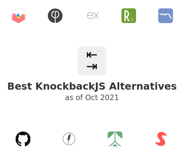 Best KnockbackJS Alternatives