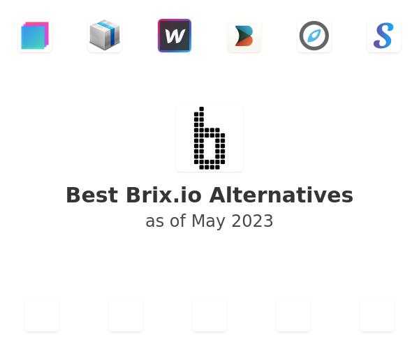 Best Brix.io Alternatives