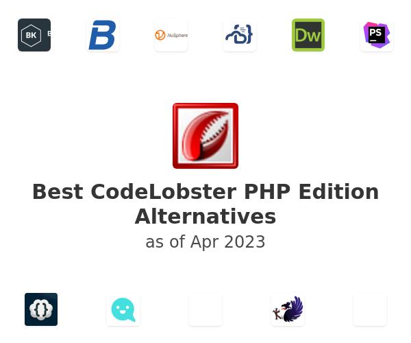 Best CodeLobster PHP Edition Alternatives