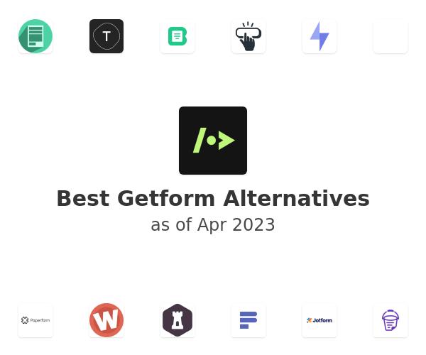 Best Getform Alternatives