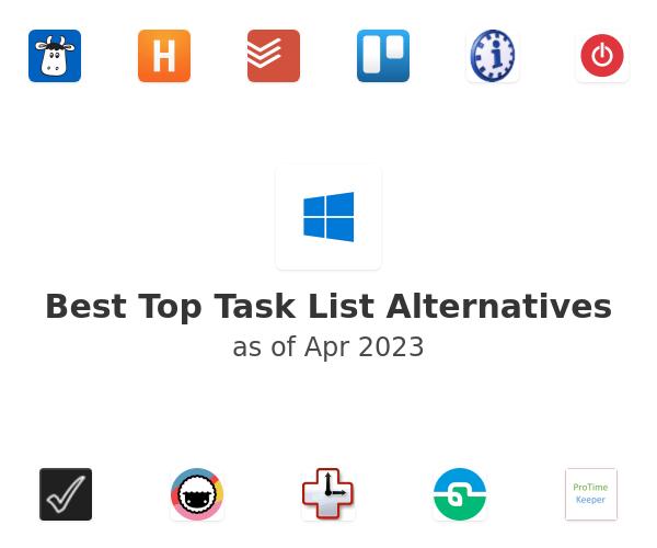 Best Top Task List Alternatives