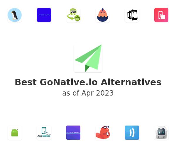 Best GoNative.io Alternatives