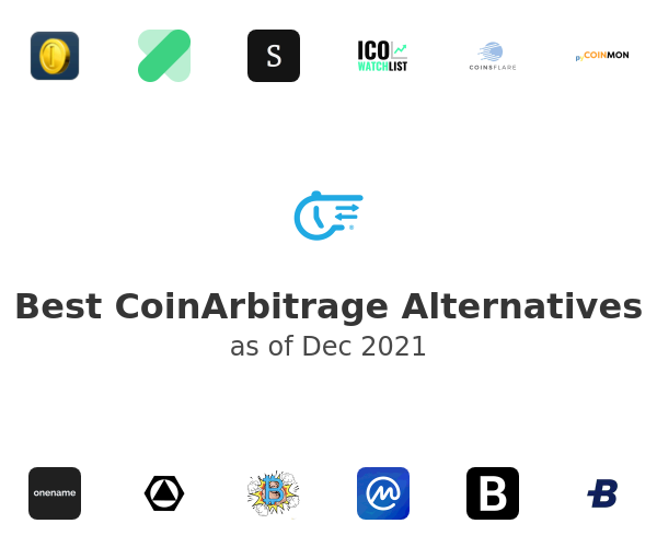 Best CoinArbitrage Alternatives