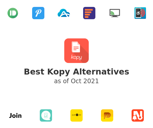 Best Kopy Alternatives