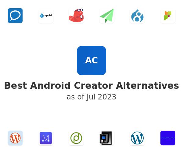 Best Android Creator Alternatives