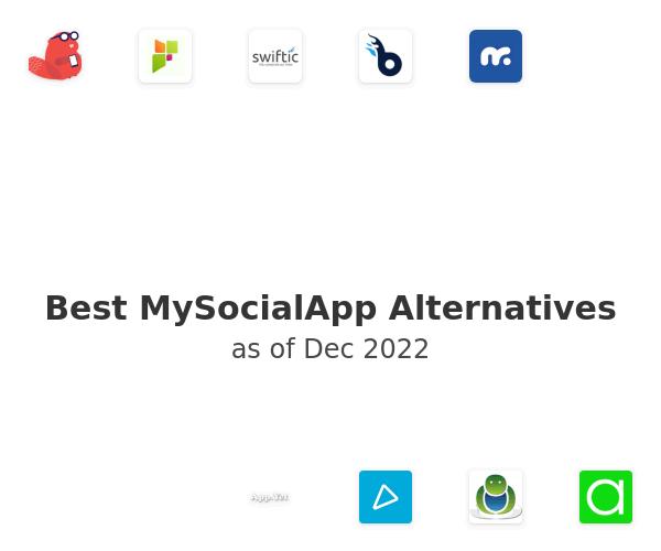 Best MySocialApp Alternatives