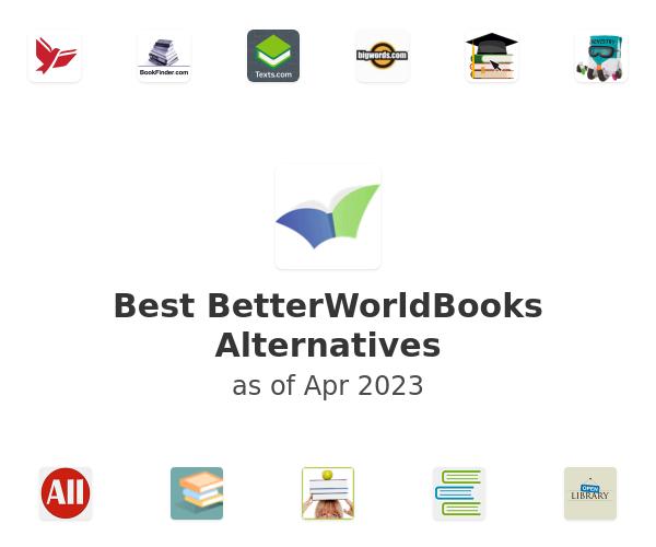 Best BetterWorldBooks Alternatives
