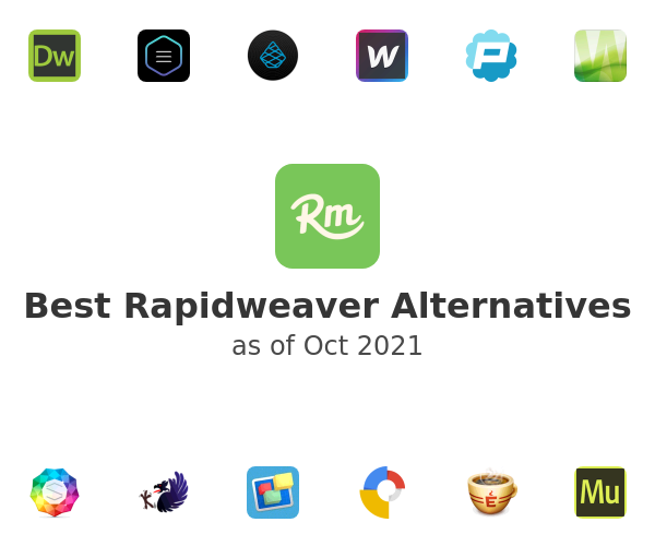 Best Rapidweaver Alternatives