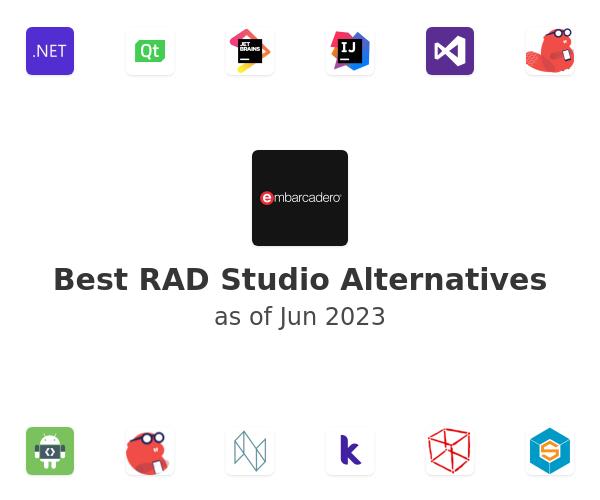 Best RAD Studio Alternatives