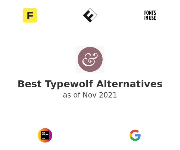 Best Typewolf Alternatives