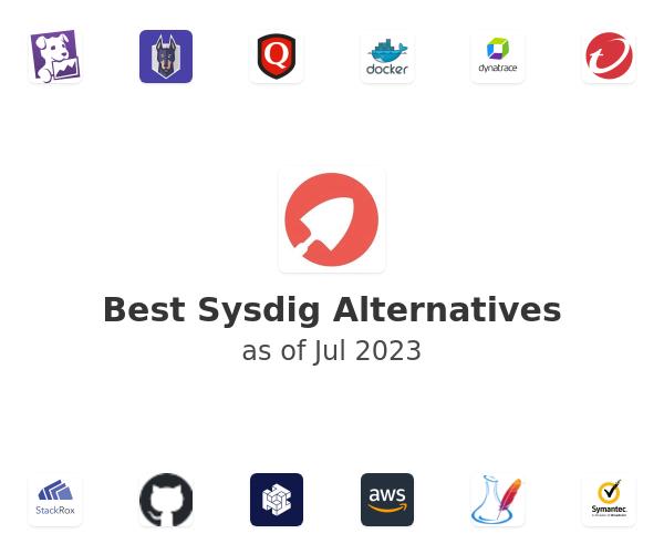 Best Sysdig Alternatives