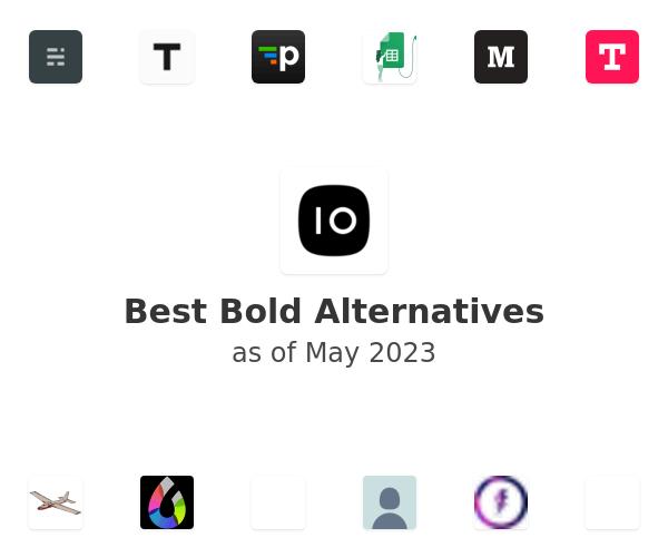 Best Bold Alternatives