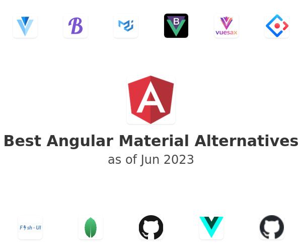 Best Angular Material Alternatives