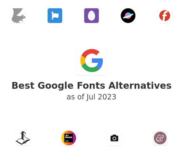 Best Google Fonts Alternatives