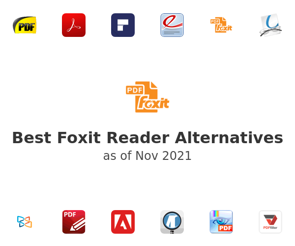 Best Foxit Reader Alternatives
