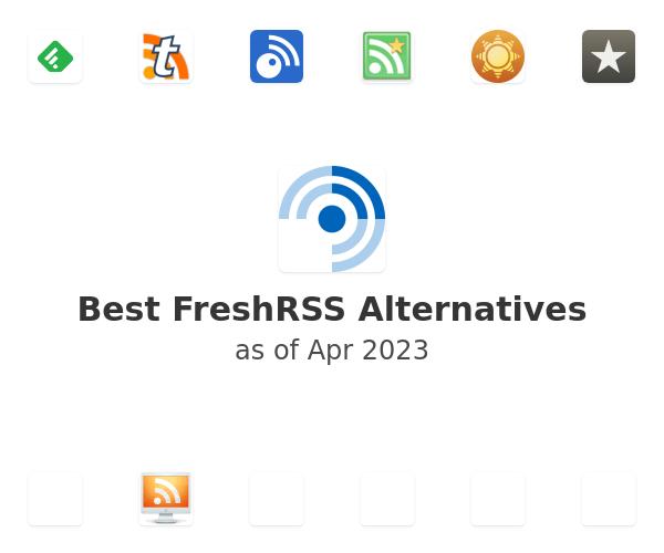 Best FreshRSS Alternatives
