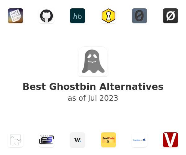 Best Ghostbin Alternatives