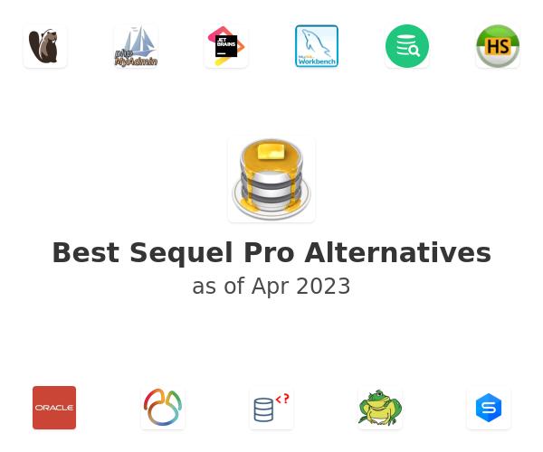 Best Sequel Pro Alternatives