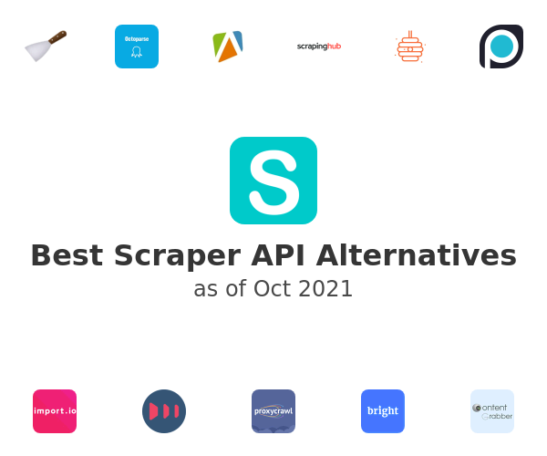 Best Scraper API Alternatives