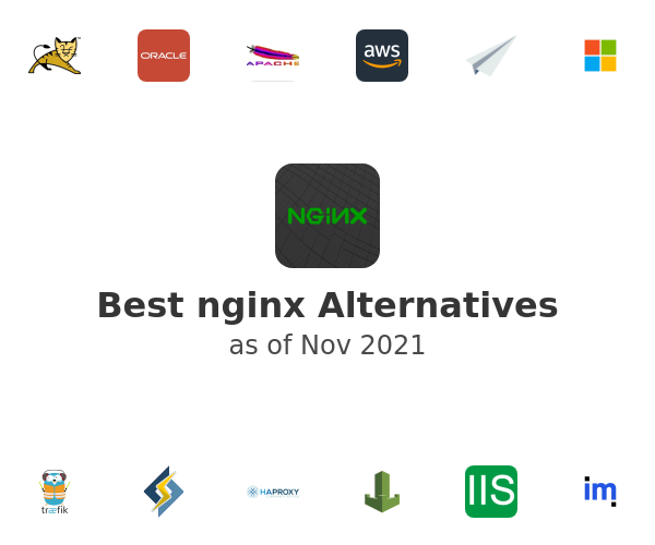 Best nginx Alternatives