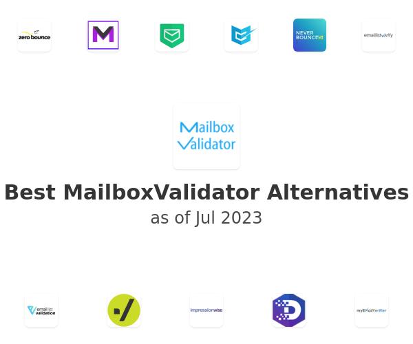 Best MailboxValidator Alternatives