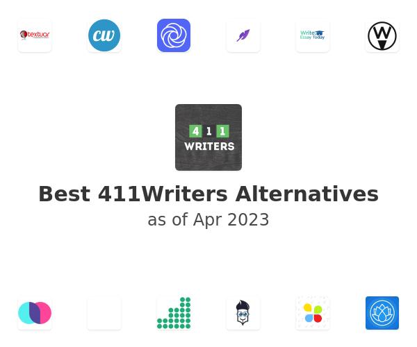 Best 411Writers Alternatives