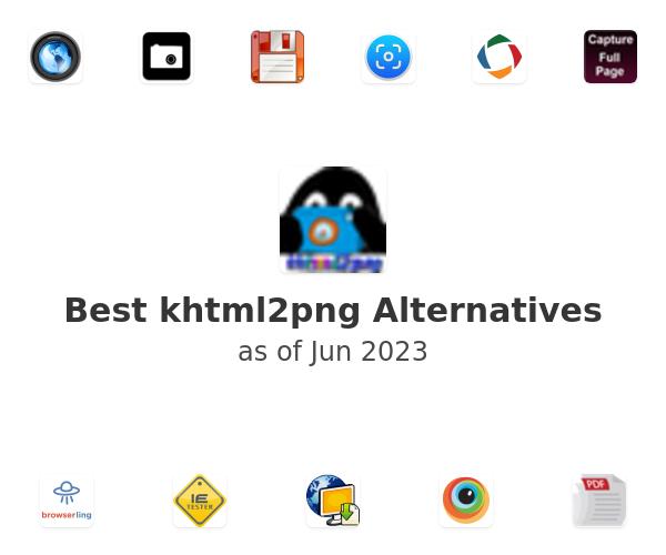 Best khtml2png Alternatives
