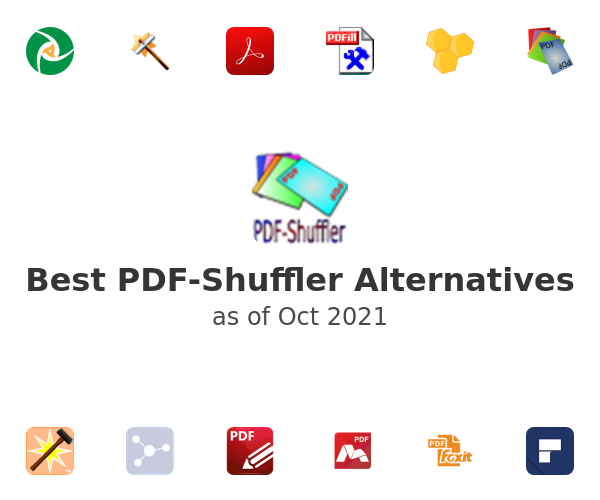 Best PDF-Shuffler Alternatives