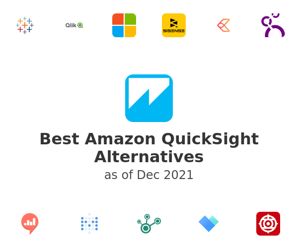 Best Amazon QuickSight Alternatives