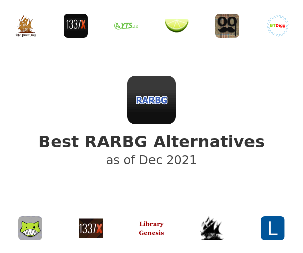 Best RARBG Alternatives