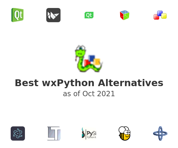 Best wxPython Alternatives
