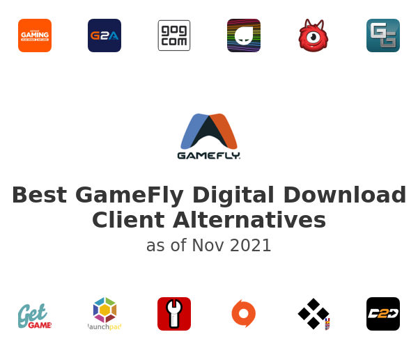 Best GameFly Digital Download Client Alternatives